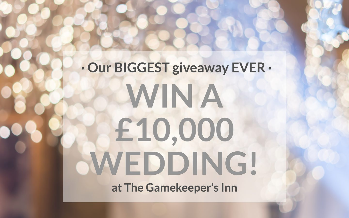 Gki 10K Wedding Giveaway Homepage Graphic