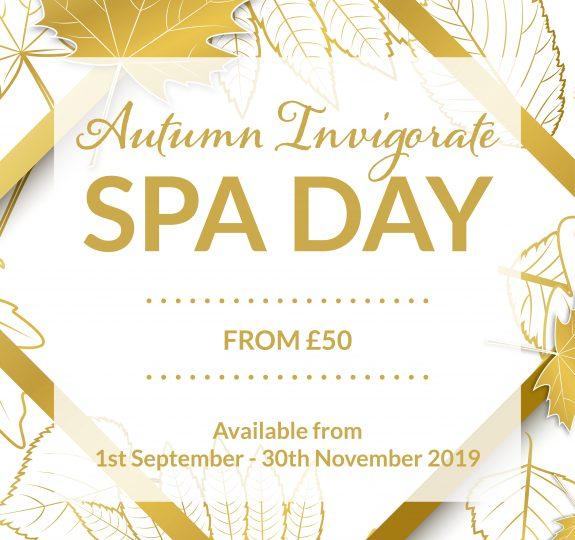 Laps Autumn Invigorate Spa Day Social Graphic