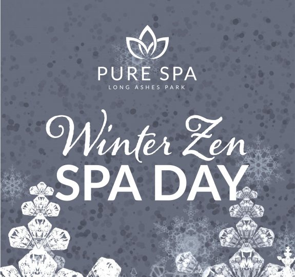 LAPS Winter Zen Spa Day Social Graphic